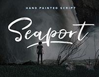 Seaport Script - A Hand Painted Script Font