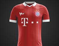 2016 FC Bayern Concept Kits