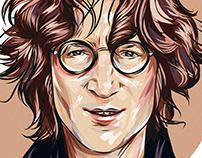 John Lennon - Vector Portrait