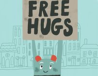 Free Hug Monster
