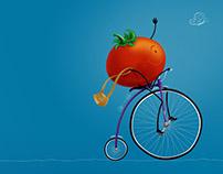 Happy Tomato  |  Tomate Feliz