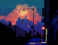 Dream Sequence / Pixel Art