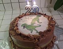 Jurassic Bday Cake