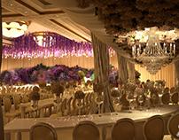 Wedding #3 - Flower stairs