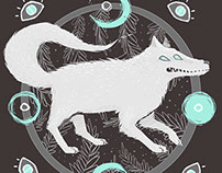 SPACE ALIEN WOLF