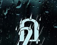 Mazha ( Rain ), Malayalam Typography