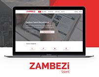 Zambezi Talent Website Design & Development
