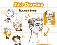 Face Drawing Exercises