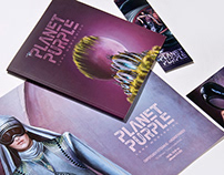 Planet Purple | illustrated book
