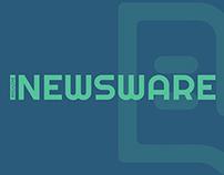 NEWSWARE - branding and magazine design