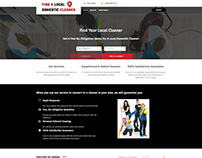 Find A Local Domestic Cleaner Website Design