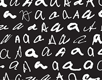 """The Handwritten """"A"""""""