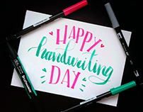 Happy Handwriting Day 2017