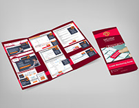 Credit Monitoring Brochure Design