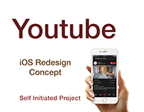 UI Design | Youtube iOS Redesign Concept