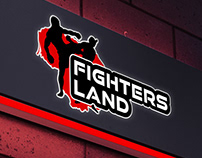 """Fighters land"" logotipas"