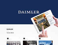 DAIMLER . Social Media