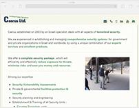 Responsive Data Driven Web Site Design and Dev.