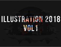 ILLUSTRATION 2018 vol 1
