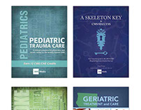 Book Cover designs for AHC Media publications