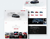 Alfa Romeo: Web Design