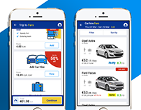 Integration for Car Hire into airline app