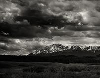 Savage Skies over Pikes Peak