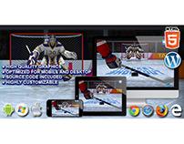 HTML5 Game: Hockey Shootout