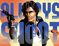 Han Solo propaganda poster