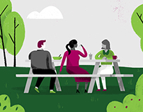Humana Explainer Illustrations