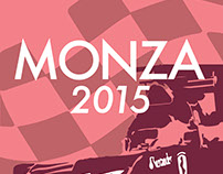 F1 Monza Poster