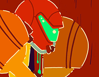 Samus animated loops
