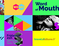 Word of Mouth TV Channel Branding