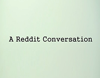 A Reddit Conversation