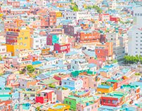 The Color of Busan, South Korea