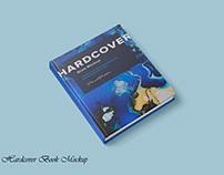 HardCover Book Free Mockup