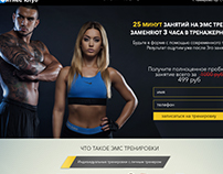 Web-Site for Fitness