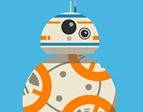BB-8 Star Wars Roll Cycle