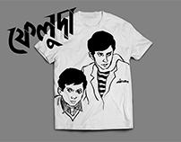 FELUDA T-shirt project.