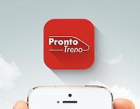 Prontotreno/Trenitalia App UI - Restyling
