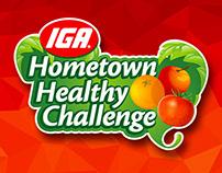 IGA Hometown Healthy Challenge Promotion