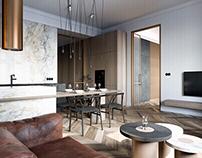 Prague apartment visualizations