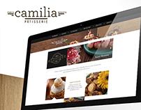 CAMILIA PATISSERIE - Diseño Gráfico / Web