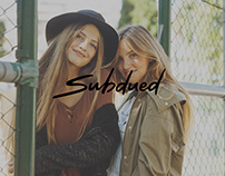SUBDUED - website & branding