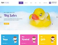 Toy Store WordPress theme