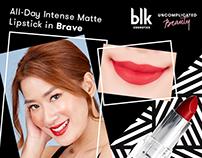 Marketing assets: blk cosmetics