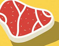 Meat slice