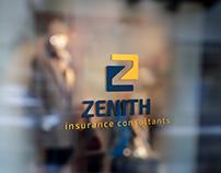Zenith for insurance consultants logo design