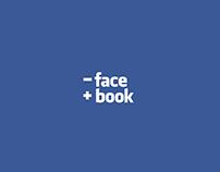 - face + book