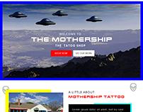 Tattoo Website Mockup